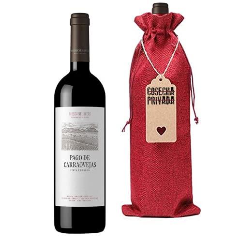 Pago de Carraovejas - Botella para Regalo - Envío Gratis 24 H - Vino Tinto - Ribera del Duero - Enviado por Cosecha Privada