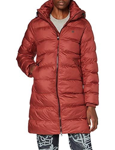 G-STAR RAW Whistler HDD Slim Long Coat Wmn Chaqueta, Dry Red B958-5298, XS para Mujer