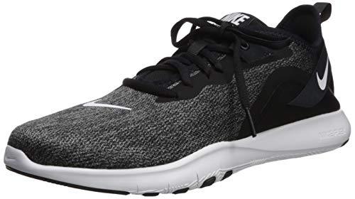 Nike Women's Flex Trainer 9 Sneaker, Black/White - Anthracite, 7 Regular US