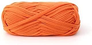 Celine lin One Skein Fancy Crochet Cloth Yarn Hand Knitting Rugs Woven Crocheted Basket Blanket Yarn 100g£¬Orange