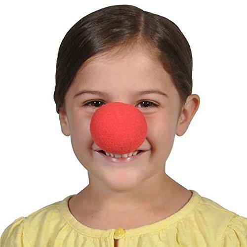 Nez Clown Rouge Éponge