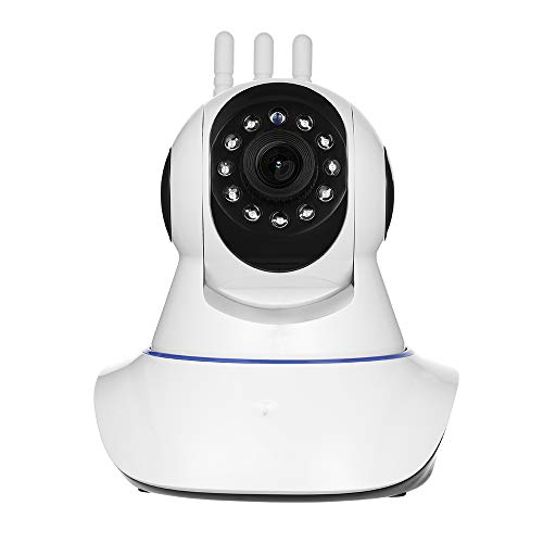 KKmoon 1080P IP Camera,Wireless Security Camera,Baby Monitor, WiFi Pet Camera,Indoor and Outdoor Camera,H.264 2MP,TF Card,Night Vision,P2P Pan Tilt IR Cutfor Baby/Elder/Pet/Nanny Monitor IP Webcam