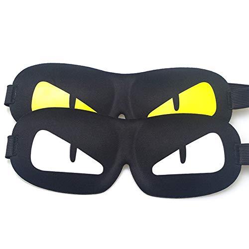 YZKD Slaapmasker, slaapmasker, 3D-patroon, schattige hulp voor slapen, reizen, ontspanning, ademende bandages