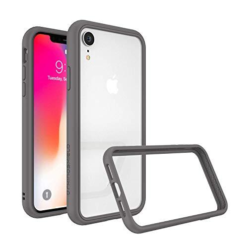 RhinoShield(ライノシールド) iPhone XR用 [CrashGuard NX] バンパーケース 衝撃吸収 スリム設計 保護カバー [3.5m/11フィートからの落下保護] - グラファイト