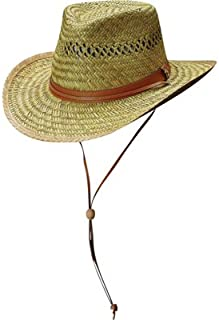 Northern Tool & Equipment Men's Outback Straw Hat - Natural, L/XL, Model Number 384C