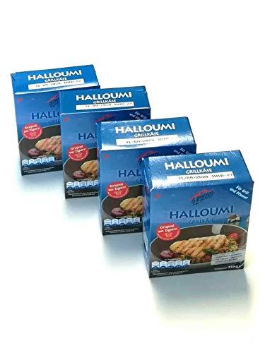 Halloumi Grillkäse aus Zypern 4 x 250g