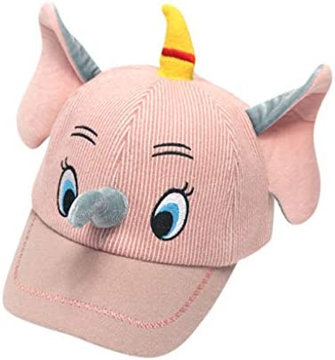 Dsood Baby Boys Cotton Elephant Sun Hat Infant Girls Baseball Cap Kids UV Protection Caps with Big Ears