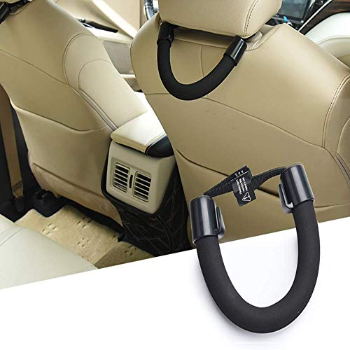 Car Seat Hand Grip Automotive Mobility Aid amp Vehicle Support Handle with ClipsStability amp Independence Moving in/Out of Cars for The Elderly Passengers or Children1 Pack