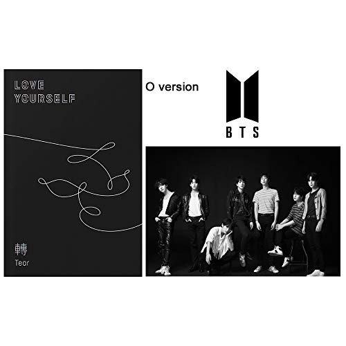 Bts Love Yourself Tear O Version 3rd Album Bangtan Boys Cdposterphotobookminibookphotocardstanding Photogift Extra 6 Photocards And 1