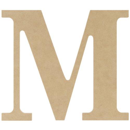 MDF Classic Font Wood Letters