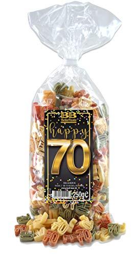 """Geburtstags-Nudeln """"Pasta Happy 70"""""""