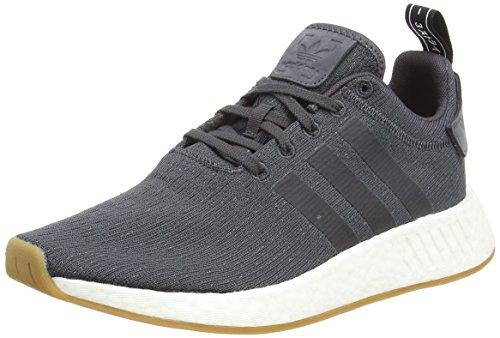 adidas Originals NMD_R2, Zapatillas Unisex Adulto, Negro Utility Black Utility Black Core Black 0, 44 2/3 EU