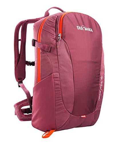 Tatonka Wanderrucksack Hiking Pack 20l mit Rückenbelüftung und Regenschutz - Leichter, bequemer Rucksack zum Wandern mit RECCO-Reflektor - Damen und Herren - 20 Liter - bordeaux red