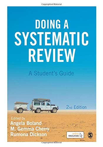 Doing a Systematic Review: A Student′s Guide