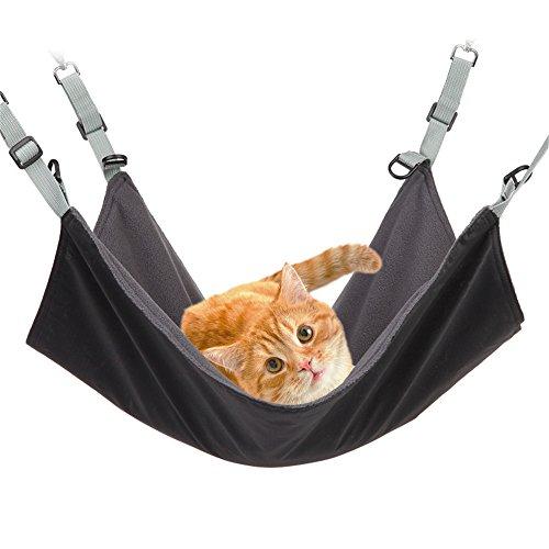 ハンモック 猫, 猫のハンモック小動物ねこ用ケージペットハンモック吊るす防水/その他小動物 22 x17cm に冬夏両用洗える人気ペット用品