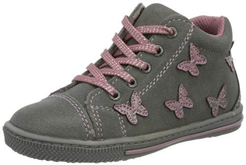 Lurchi Baby-Mädchen BIBI Sneaker, Grey, 26 EU