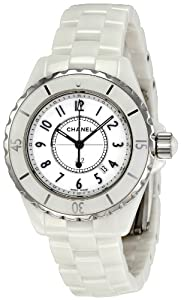 Chanel Women's H0968 J12 White Ceramic Bracelet Watch Check Prices and For Sale and review image
