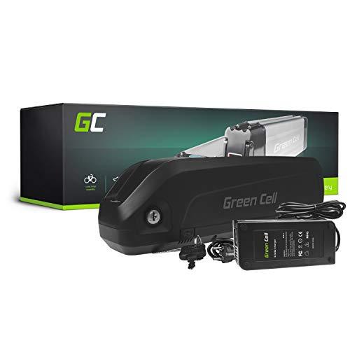 GC® E-Bike Akku 48V 17Ah Li-Ion Markenzellen Pedelec Down Tube Batterie mit Ladegerät für Cyco Frisbee Bikes Kreidler MiFa Prophete Rex Trio Zündapp