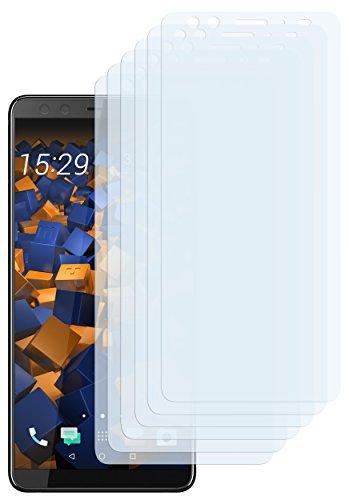 mumbi Schutzfolie kompatibel mit HTC U12+ Folie klar, Bildschirmschutzfolie (6x)