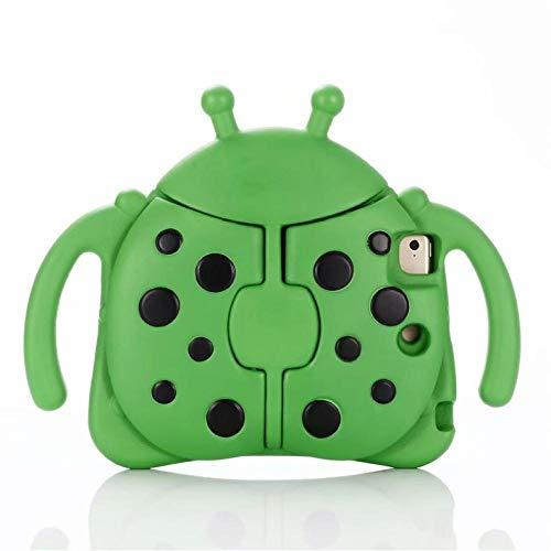 EVA ShockProof Case for iPad Mini 1 2 3 4 5 Kids Cartoon Full body cover 7.9 inch Children Stand Tablet mini 5 funda-Green_ipad mini 12345