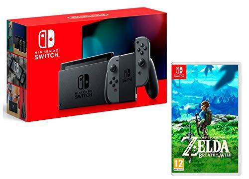 Nintendo Switch 32Go Gris + The Legend of Zelda: Breath of the Wild