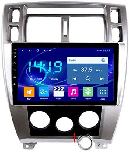 AEBDF Android 9.1 Coche Estéreo Radio GPS Navegación para Hyundai Tucson 2006-2013 Pantalla de Pantalla táctil Sat Nav Car Media Player,8Core WiFi+4G 4+64 DSP+Carplay