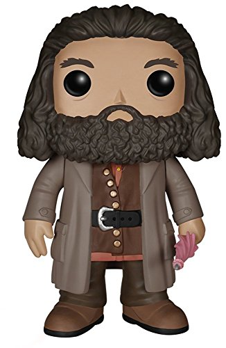 Funko Pop!- 5864 Vinyl: Harry Potter: 6' Rubeus Hagrid, Multicolor