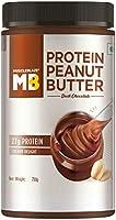 MuscleBlaze High Protein Dark Chocolate Peanut Butter, 27% Protein, Creamy, 750g