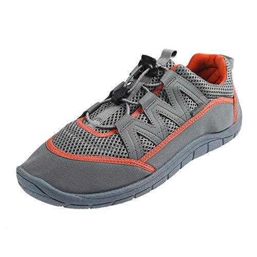 Northside Men's Brille II Water Shoe (13 D(M) US, Charcoal/Orange)