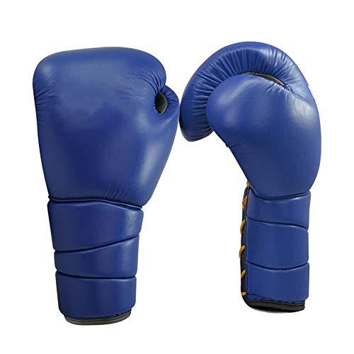 LINPAN Gants de Boxe Adulte Muay Thai Gants de Boxe Artificial Gants en Cuir Gants de Boxe Envoyer Serviette Bandage Poignet Sport pour la Formation Sparring Thai MMA Mitts Muay