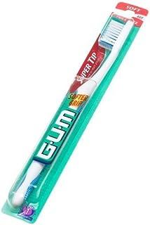 海外直送肘 Gum Butler G-U-M Super Tip Full Head Toothbrush Soft, Soft 1 each