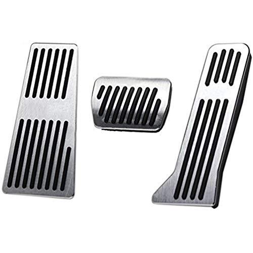 pedali pedale tappi Per CX-5,Pedale per macchine con cambio automatico Pedali poggiapiede alluminio con Gomma Antiscivolo