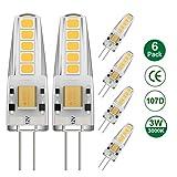 Ralbay G4 LED 12V, 6 x G4 LED 3W Pari a 30W...