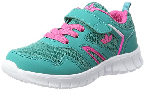 Brütting Unisex Skip VS Walking-Schuh, türkis, pink, 39 EU