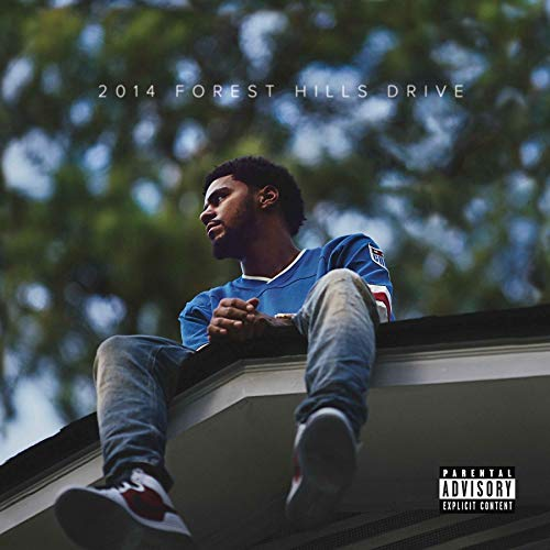 Official - J. Cole (2014 Forest Hills Drive) - Album Cover Poster (12'x12')