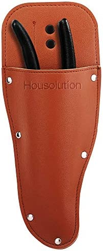 Housolution Garden Pruner Sheath Premium PU Leather Holster Protective Case Cover Scabbard for product image