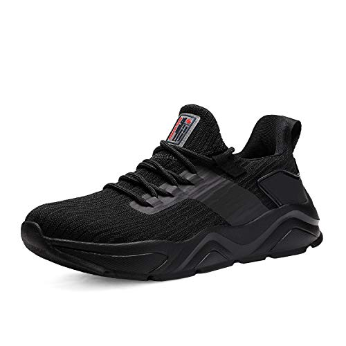 DREAM PAIRS Women's Black Breathable Sneakers Lightweight Tennis Walking Shoes Size 8 M US Breathe-1