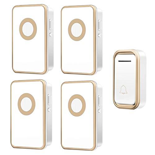 Xxw Deurbel, draadloos, draadloos, deurbel, waterdicht, elektronische afstandsbediening, Old Caller