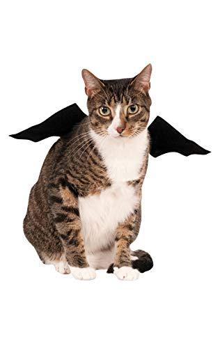 Rubies - Alas de murciélago de Vampiro Negro Oficial, Accesorio para Disfraz de Halloween para Mascotas, tamaño pequeño, Mediano