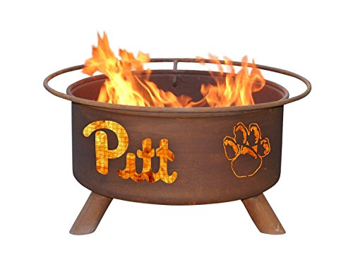 Patina Products F228, 30 Inch University of Pittsburgh Fire Pit