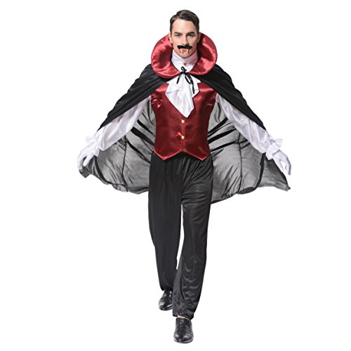 flatwhite Men's Vampire Costume