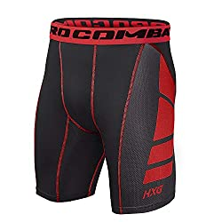 Hivexagon HXG Men's Fitness Compression Shorts Pro Cool Compression Tight Shorts Functional Underwear Pants