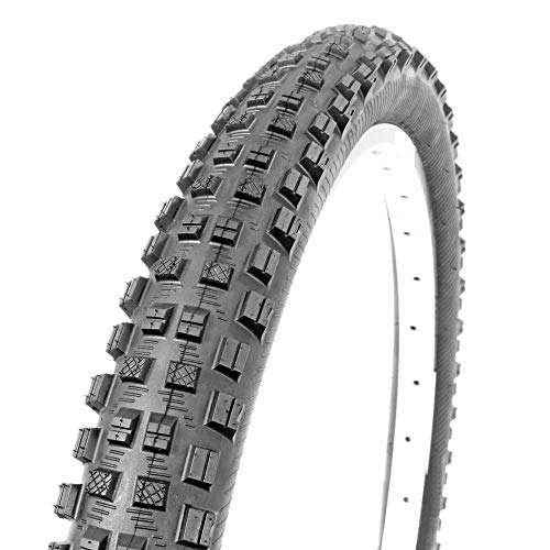 MSC Bikes Gripper Neumático Bicicleta, Adultos Unisex, Negro, 27. 5 x 2. 40