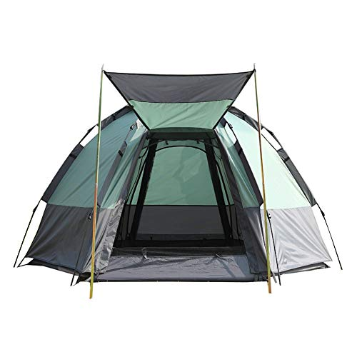 Tent outdoor camping camping windproof and rainproof double layer cold and rainproof light