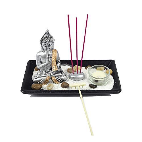 Buda Jardin Mini LH214116 Resina Garden Zen