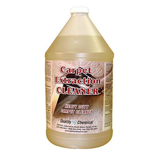 Commercial Carpet Extraction Cleaner and Shampoo. Heavy-duty carpet cleaner for use in all extraction type machines.-1 gallon (128 oz.)