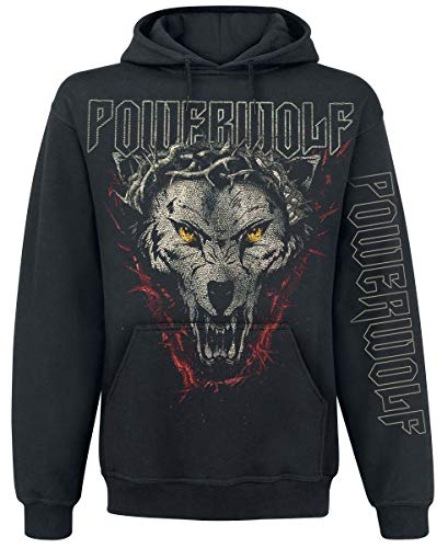 Powerwolf Metal is Religion Männer Kapuzenpullover schwarz S