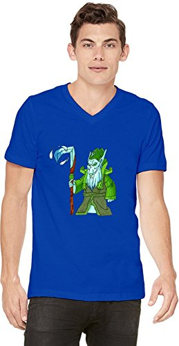 Dota 2 Hero Necrophos Mens V-neck T-shirt XX-Large