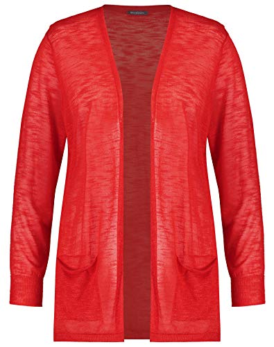 Samoon Damen Leichte Strickjacke Leger Watermelon 52