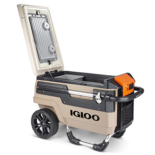 Product Image 1: Igloo Trailmate Journey 70 Qt Cooler, Canyon Brown/Riverbed Tan (00034298)